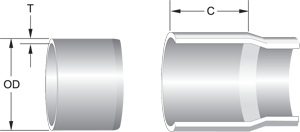Pipe Diagram - Solvent Weld White Pipe